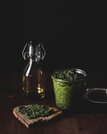 Karottengrün Pesto