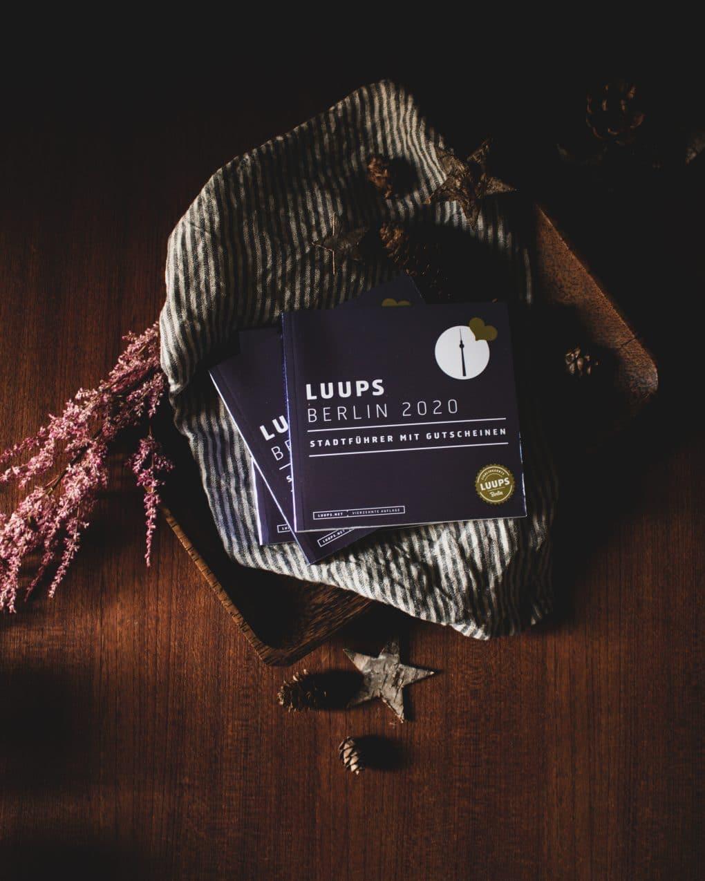Mit Luups die Stadt entdecken. Heisse Schokolade mit weihnachtlichen Gewürzen und Amaretto