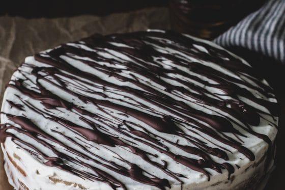 Amaretto Kirsch Kuchen