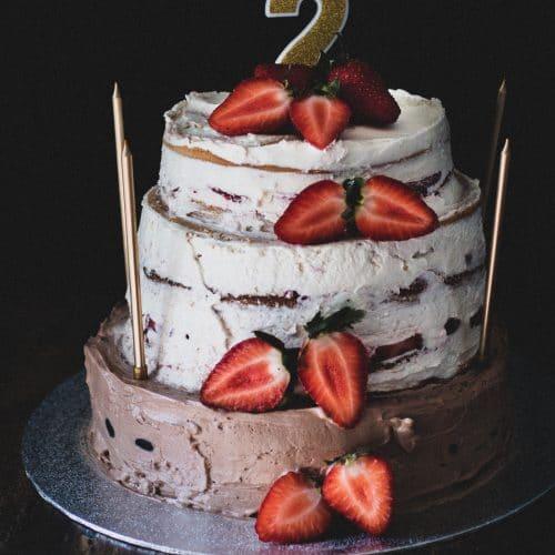 Geburtstagstorte vegan & alternativ gesüßt