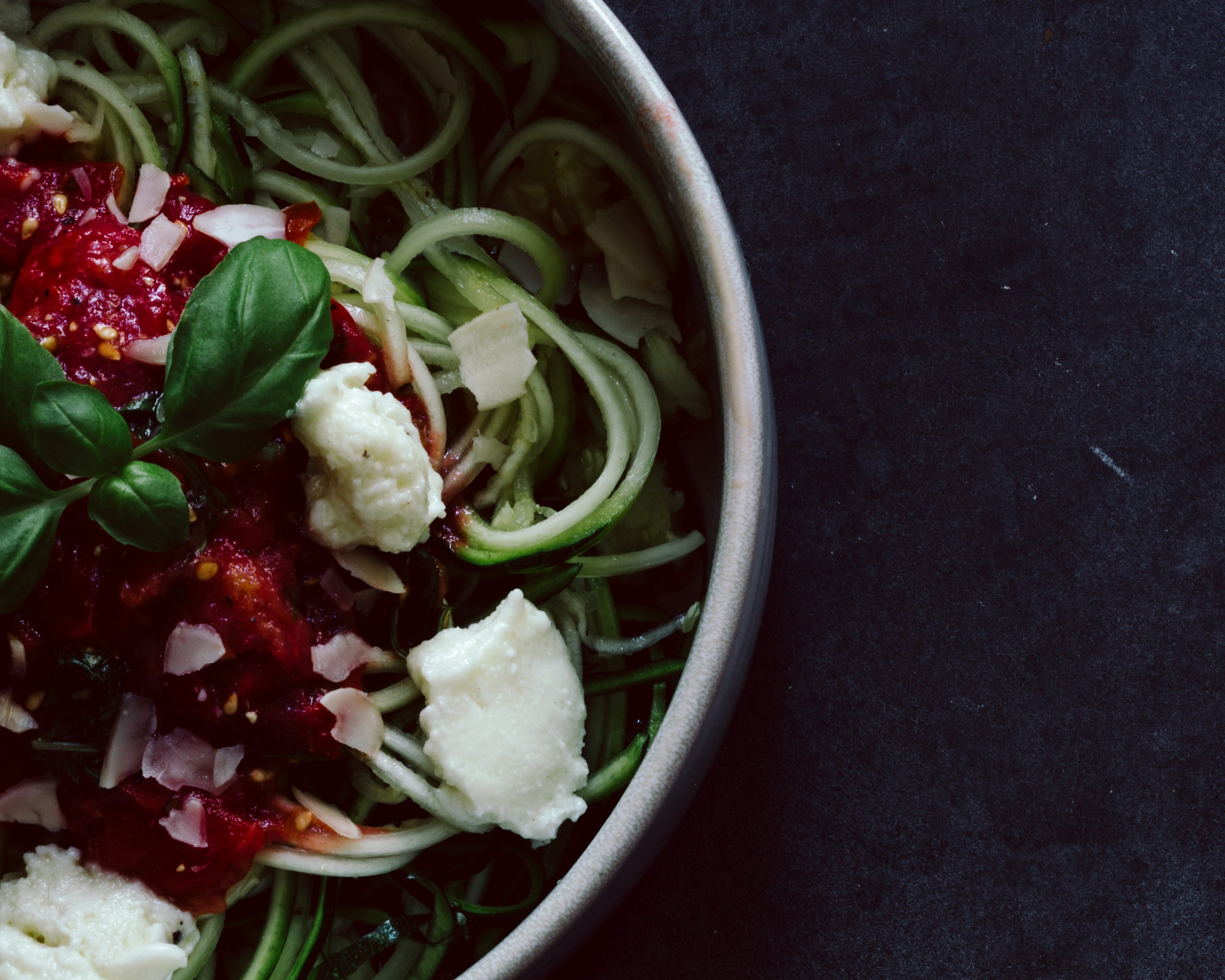 Zucchini Nudeln Zoodles